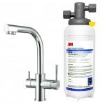 3M DWS1402多功能長效型淨水系統★搭3M三用淨水龍頭