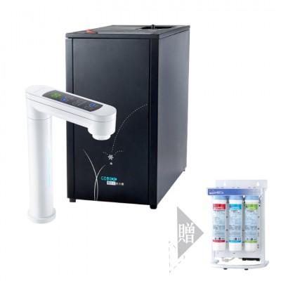 宮黛GD-800觸控式冰溫熱廚下加熱器/飲水機(白)★送RO機一組